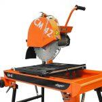 Locação de cortadora de bloco com bancada CLIPPER – CM42 NORTON